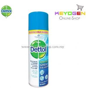 Dettol Antibacterial Germicidal Hygiene Liquid Disinfectant Spray Crisp Breeze 225ml - 1 Unit