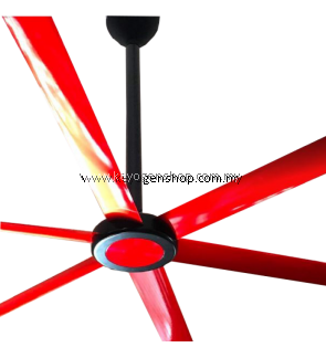 KHIND Mistral HVLS HVLS — high-volume, low-speed fan is a ceiling fan greater than 7 feet Industrial Ceiling Fan MCFD108HVLS